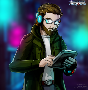 Dave - Cosmic Star Heroine by slash000