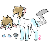 CLOSED /  Canine Adoptable by Violeta-Adopts