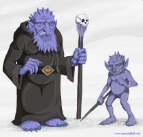 Icy Minions by MythAdvocate