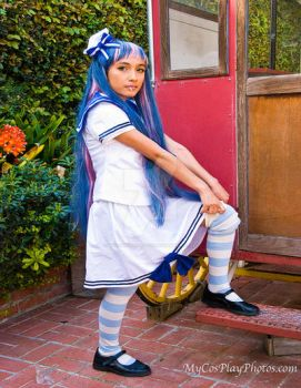 Stocking pull up stocking by MyCosPlayPhotos