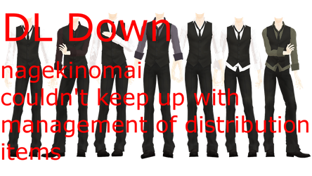 MMD DL Series More Formal Suits DL Down by 2234083174