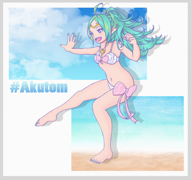 FEH- Summer Nowi by Akutom