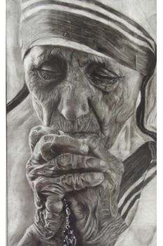 Mother Teresa by wretchedharmony-lina