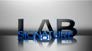 Signature Lab Wallpaper by CryoGfx