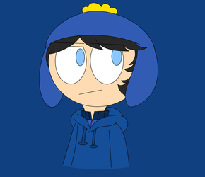 South Park-Craig wearing a hoodie by CreativeFoxx13