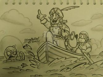 Pirate Play by CrazyPlantMae
