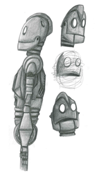 More Iron Giant Drawings by RaynaOfTheDead