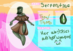 DD Court App- Serpentine! by Gay-Ray-Of-Sunshine