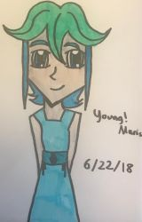 Young!Maris by legendarylady13