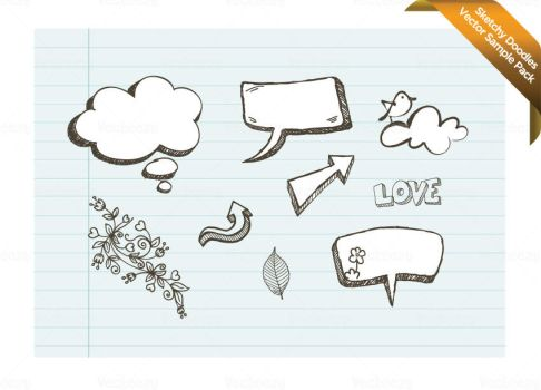 Doodles Sample Vector Pack by Vecteezy