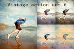 Vintage action set 6 by beckasweird