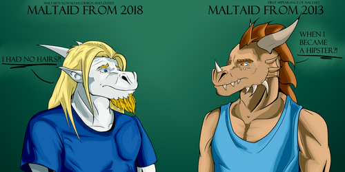 New versus Old by Maltaid