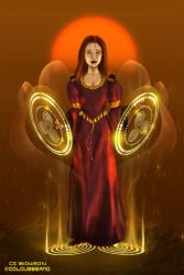 Commissioned: Mabon, Goddess of the Autumn by Colourbrand