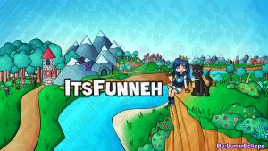 ItsFunneh Youtube Banner by LunarEclispe