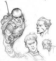 More draw night sketches by RyanOttley