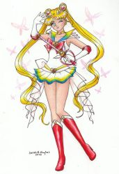 Super Sailor Moon by SarahsPlushNStuff