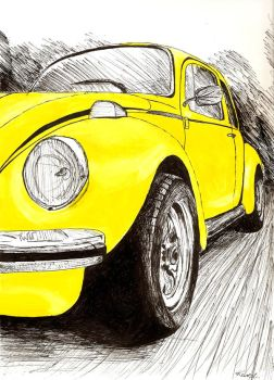 Yellow Beetle by Charlie-is-a-girl
