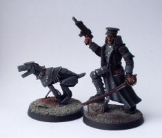 Inquisitor 54mm Commissar by Conclave81
