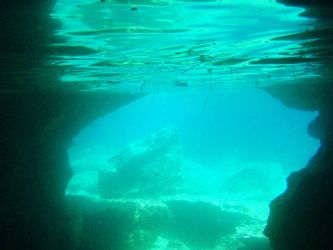 underwater cave by kailor