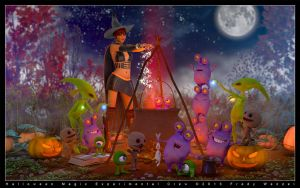 Halloween Magic Experimental Crew by Fredy3D