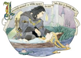 Lancelot mused by miggetymary