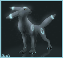Umbreon by WraithWolves