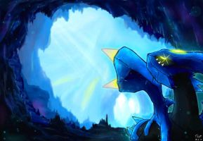Kyurem - Giant Chasm: Lonely and Frosty by TkptVN
