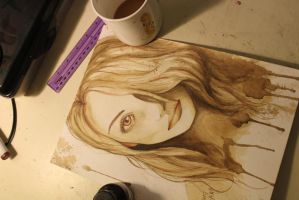Coffee Girl by KDozier