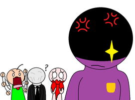 Baldi's Jealousy of William Afton by SCP-096-2