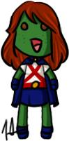 Young Justice - Miss Martian by shrimp-pops