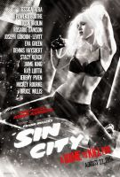 Sin City: A Dame to Kill For (2014) - Nancy Poster by CAMW1N