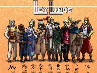 LeyLines Line-up! by RobinRone