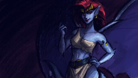 Demona by grafffite