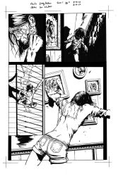 Snow page 2 inks by raMbo1911