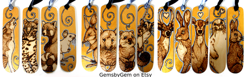 Bookmarks by BumbleBeeFairy
