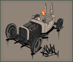 Dirty HotRod by dusthead-23