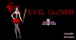 Evil Clown PACK by School-shooter by School-shooter