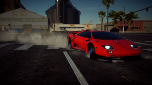 SideSwipe takes his drifting fun by JSMRACECAR03