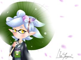 Splatoon 2 ~ Marie by MariYagami1412