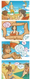Team Korra's Beach Day by Artsypencil