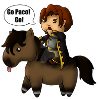 Go Paco! Go! by KTechnicolour