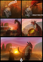 Red Sky Page 1 by captaincuttlefish