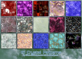 Crystal Patterns B by silver-