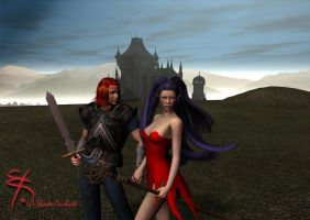 Walking in the Highlands - SD3 by Shade-Duelist