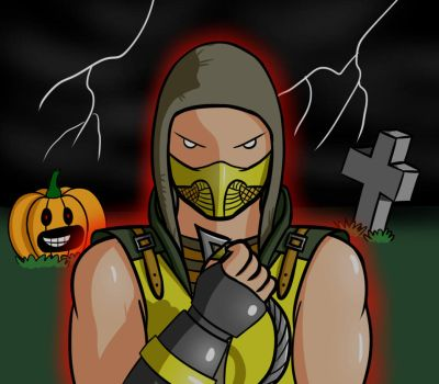Request - Scorpion by StomachGod