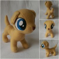 Golden Lab Puppy Plush by Jhaub1