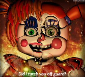 C4d | Did I Catch You Off Guard? | Poster by The-Smileyy