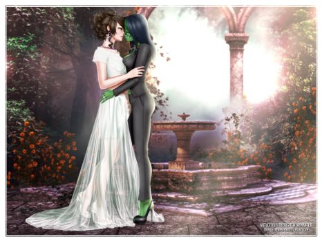 You May Kiss the Bride by theNightwishmaster