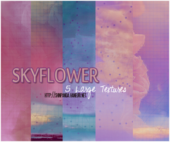 TEXTURE PACK 18 : SkyFlower by chazzief