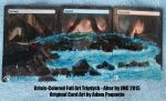 Grixis Lands Full Art Alter by koibito